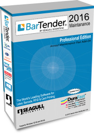 BarTender 2016 Professional Maintenance with Single Computer License