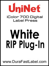 UniNet White RIP Add-On Plug-in For iColor 700 Label Printer
