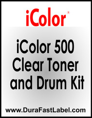 iColor 500 Clear toner and drum kit