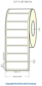 "Epson TM-C3500 2.5""x1.25"" Chemical Labels"