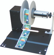 VIPColor label rewinder for use with the VIPColor VP485 and VP495 color label printers.