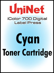 UniNet iColor 700 Cyan Toner Cartridge