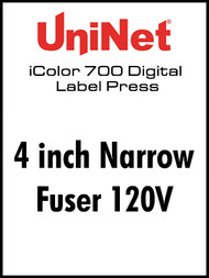 "UniNet iColor 700-4"" Narrow Fuser 120V"
