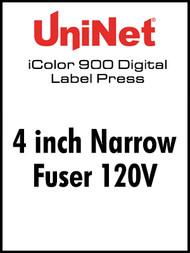 UniNet iColor 900 Fuser 120V - 4 inch Narrow