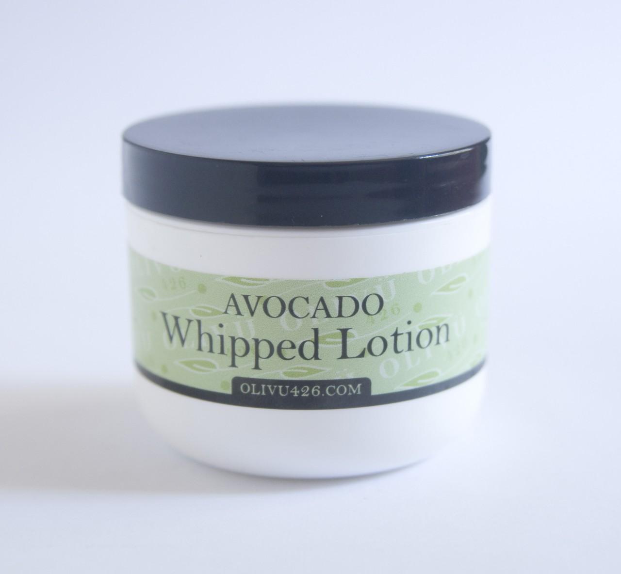 Whipped Avocado Lotion