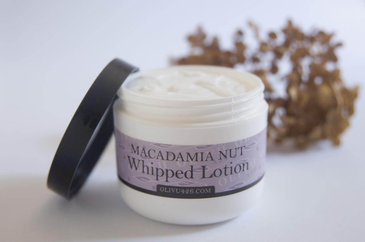 Whipped Macadamia Nut Lotion