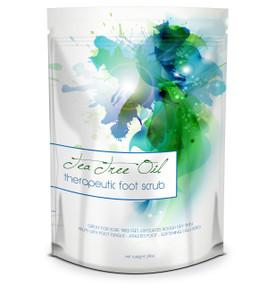 Tea Tree Oil Foot Scrub - 24oz - Helps Treat Nail Fungus , Athletes Foot & Stubborn Foot Odor