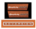 Simplicity 3212V Sovereign WoodGrain Decal
