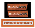 Simplicity Landlord 3212V decal