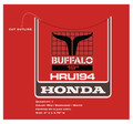 Honda HRU194 Lawn Mower Decals