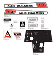 Allis Chalmers 314 Hydro w/ Dash Decal Kit