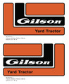 Gilson YT16 Hood Decal