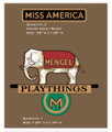 Mengal Miss America Boat Decals