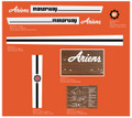 Ariens Manorway Lawn Tractor Decal Kit