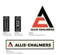 Allis Chalmers Mid 60s - Early 70s Rototiller Decals