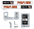 MTD Farm King Garden Hydro 16 Decal kit