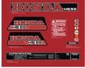HONDA HS55 Snowblower Decal Kit