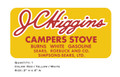 JC Higgins Campers Stove Decal