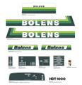 Bolens 1986 HDT 1000 Diesel Tractor Decal Kit