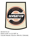 Sensation and Commercial Handle Decal