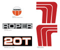 SEARS Roper 20T Decals