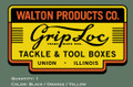 Grip-Loc Tackle and Tool Box Decal