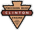 Clinton 4 Cycle Engine Decal