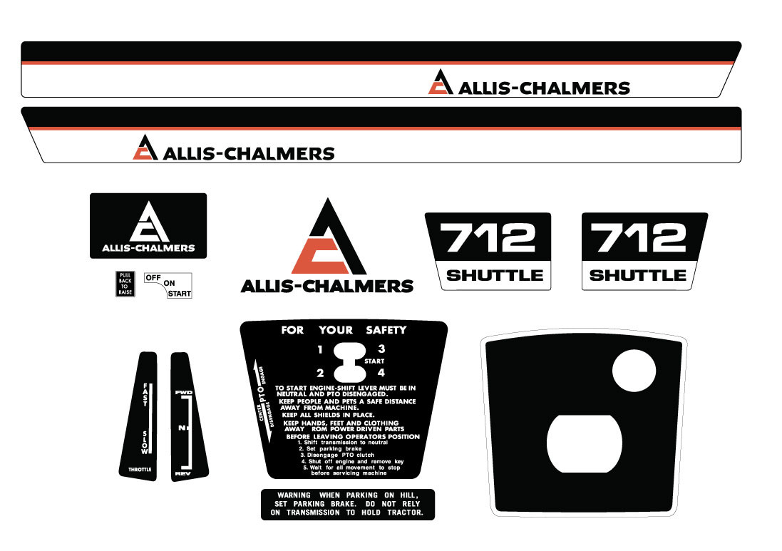 Allis Chalmers 712s Late Kit