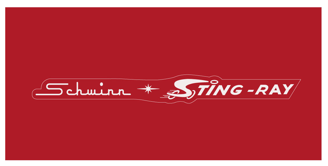 Schwinn Stingray Decal Vintage Reproductions
