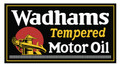 Wadhams Tempered Motor Oil Decal