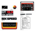 SEARS 1978 GT19.9 Decal kit