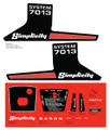 Simplicity System 7013 Decal Kit