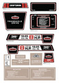 SEARS 1971 8Hp Decal Kit