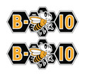 B10 Allis Chalmers Bee decals