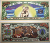 "Nativity ""Twenty-Five Million Angels"" Bills"