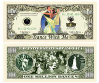 Ballroom Dancing Million Dollar Bill