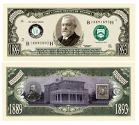 BENJAMIN HARRISON MILLION DOLLAR BILL