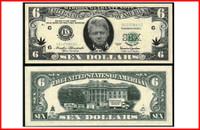 Slick Willy 6 Dollar (SEX) Bill