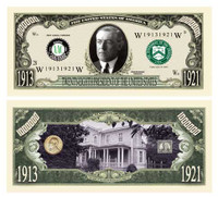 Woodrow Wilson Million Dollar Bill