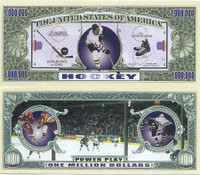 Hockey One Million Dollar Bill