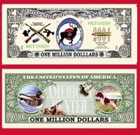 HUNTER MILLION DOLLAR BILL