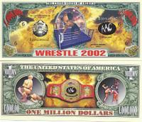 Wrestling One Million Dollar Bill