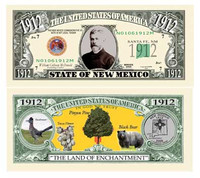 New Mexico State Novelty Bill