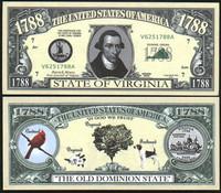 Virginia State Novelty Bill