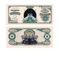 Gemini Zodiac One Million Dollar Bill
