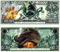 Dragon's Lair One Million Dollar Bill