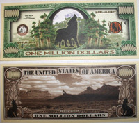 Howling Wolf One Million Dollar Bill