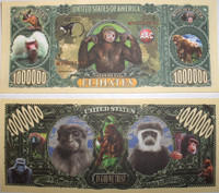 Primates One Million Dollar Bill