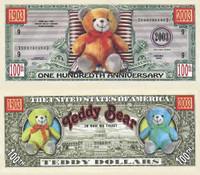 Teddy Bear One Hundredth Anniversary Bill