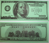 One Hundred Dollar Bill Casino and Poker Night Money-PM